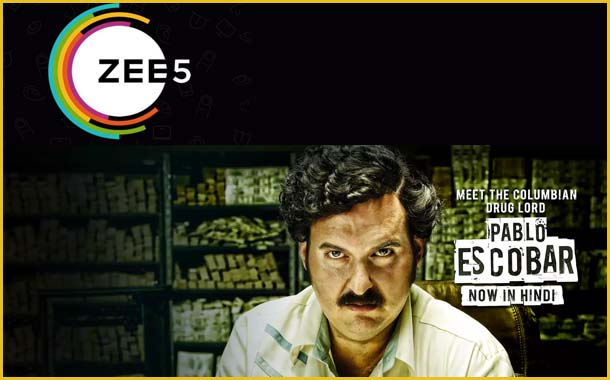ZEE5 streams the Hindi dubbed version of Columbian drama Pablo