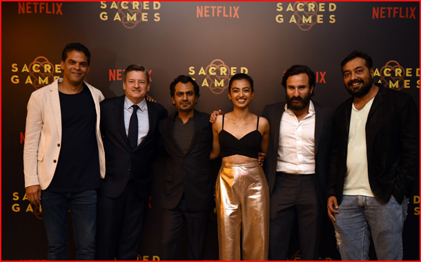 Netflix hosts premiere of its first Indian Original Series, Sacred Games