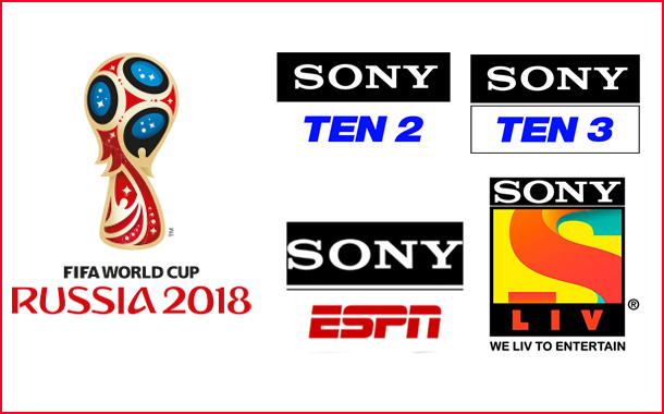 FIFA World Cup 2018 on Sony Sports Channels and SonyLIV