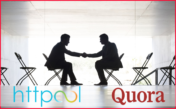 Quora appoints Httpool as their official ad sales partner in