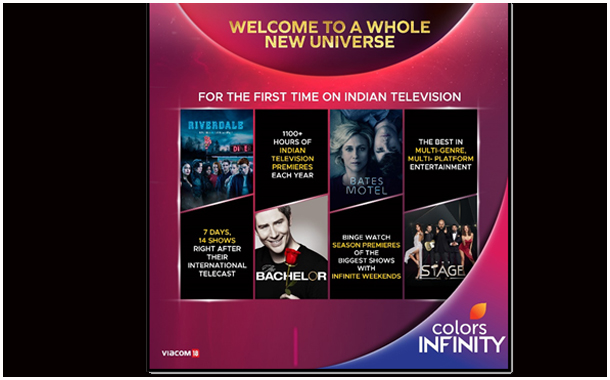 Colors Infinity goes live on Jio TV