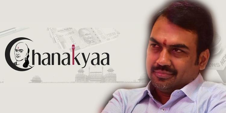 Journalist Rangaraj Pandey launches 'Chanakyaa' Channel