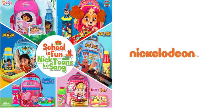 """379c6df85 Nickelodeon launches new  Back to School  range  tells kids """"School is Fun  Nick Toons Ke Sang"""""""