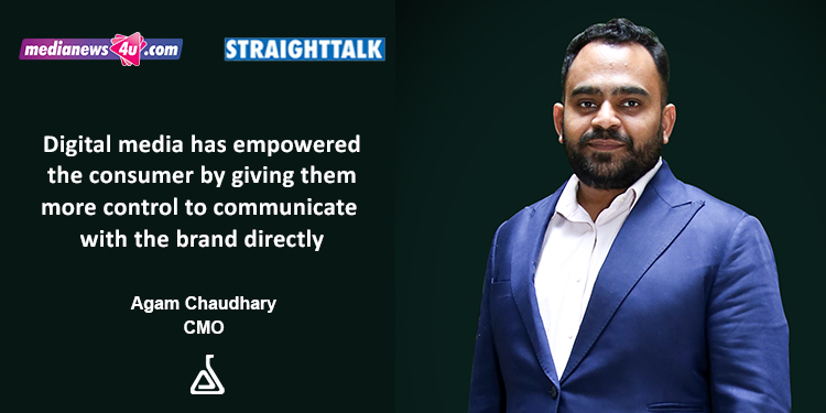 StraightTalk With Agam Chaudhary, CMO - Digitalabs