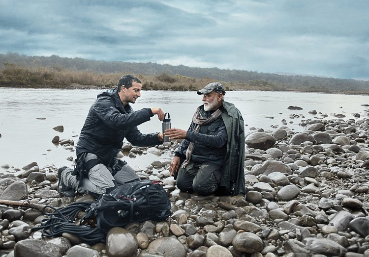 PM Narendra Modi features in Discovery's 'Man Vs Wild' Show with Bear Grylls