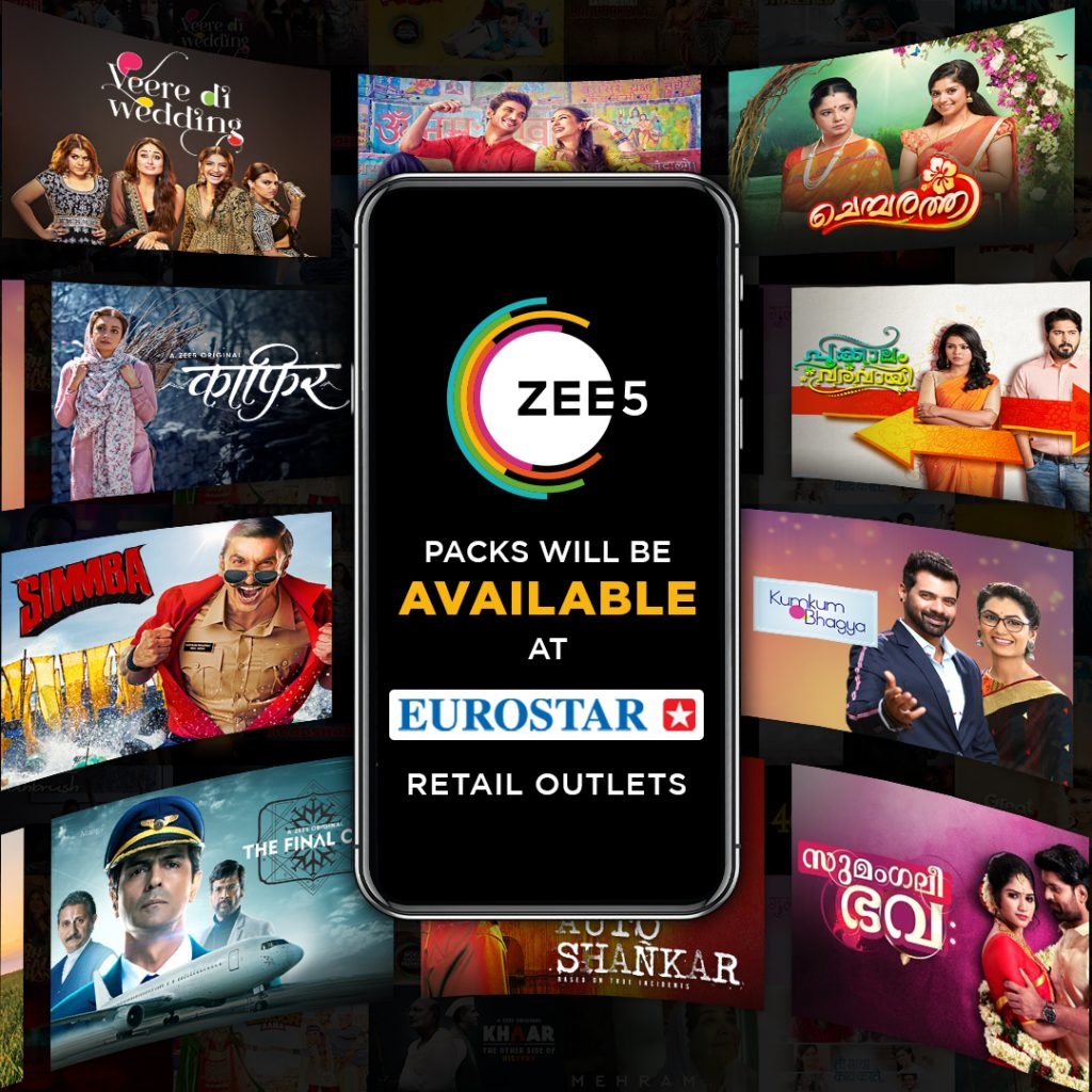 ZEE5 Global partners with the EUROSTAR Group in the Middle East to roll out Offline Subscriptions (1)