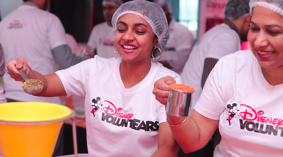 Disney and Star India take part in the largest meal packing activity