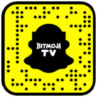 Snapcode for Bitmoji TV