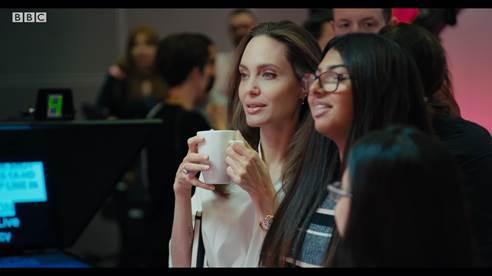 Angelia Jolie BBC