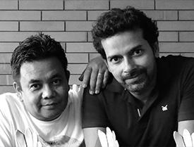 Vikash Chemjong and Basabjit 'Tito' Majumdar
