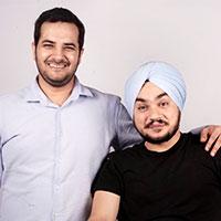 Lavinn Rajpal & Angad Singh Manchanda