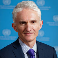 Mark Lowcock, Under-Secretary-General for Humanitarian Affairs and Emergency Relief Coordinator