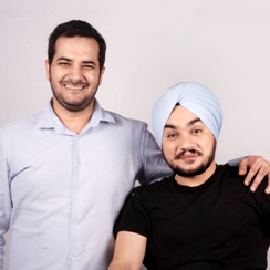 Angad Singh Manchanda & Lavinn Rajpal