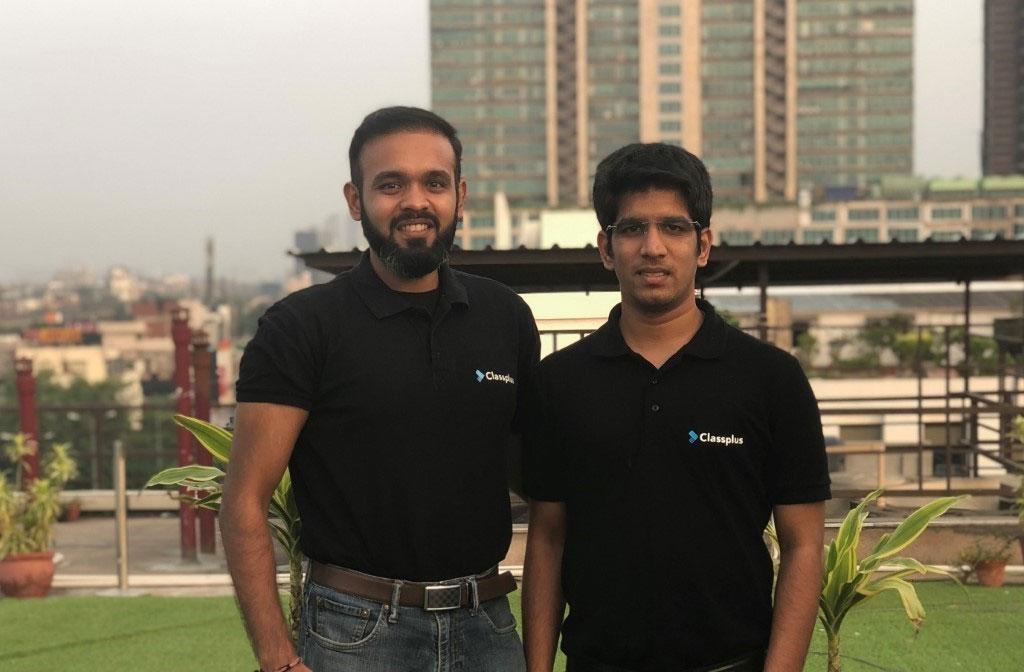 Co-founders of Classplus, Mukul Rustagi and Bhaswat Agarwal